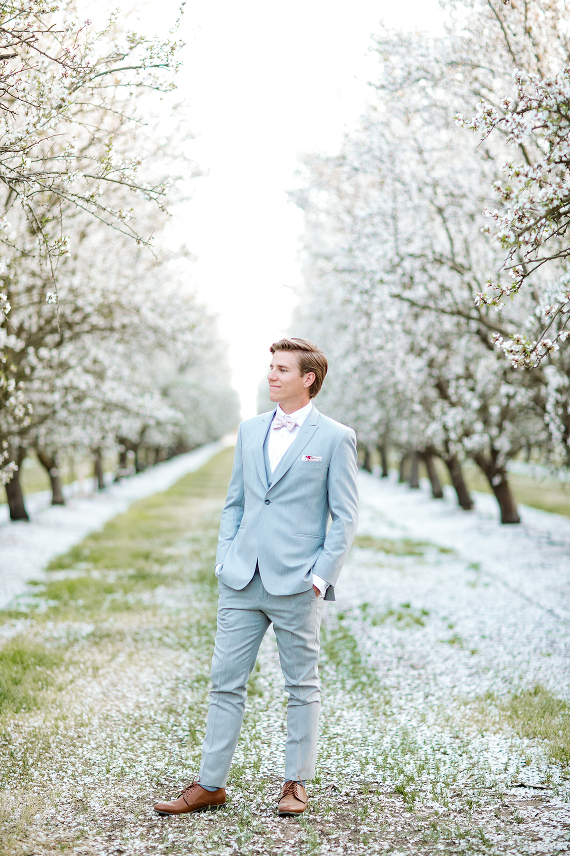 Whimsical Almond Orchard Blossom Wedding Inspiration – Playful Soul Photography 29