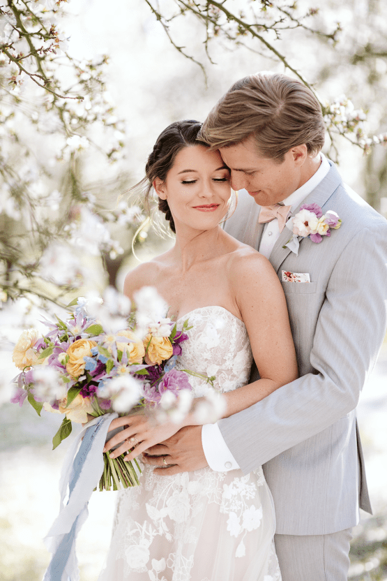 Whimsical Almond Orchard Blossom Wedding Inspiration – Playful Soul Photography 36