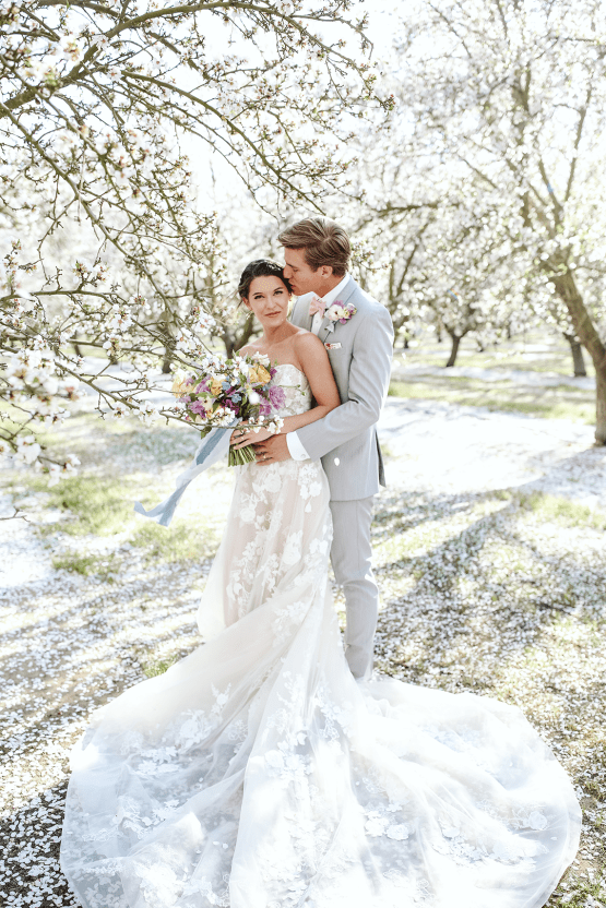 Whimsical Almond Orchard Blossom Wedding Inspiration – Playful Soul Photography 40