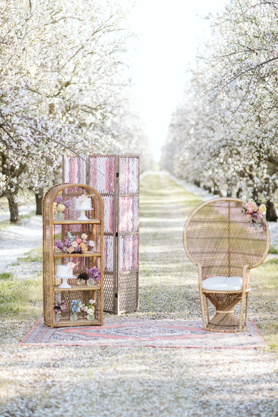 Whimsical Almond Orchard Blossom Wedding Inspiration – Playful Soul Photography 9