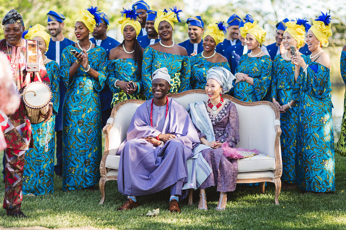 Colorful and Joyous Japanese and Nigerian Multicultural Wedding – Zoe Larkin Photography 37