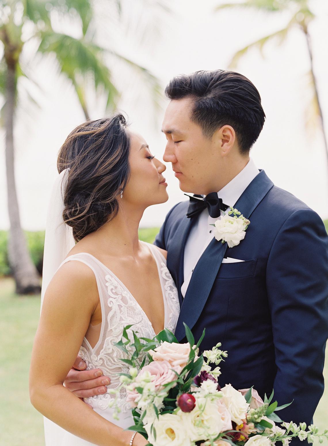 Elegant Sage Green Hawaii Destination Wedding – Etcetera Photo 16