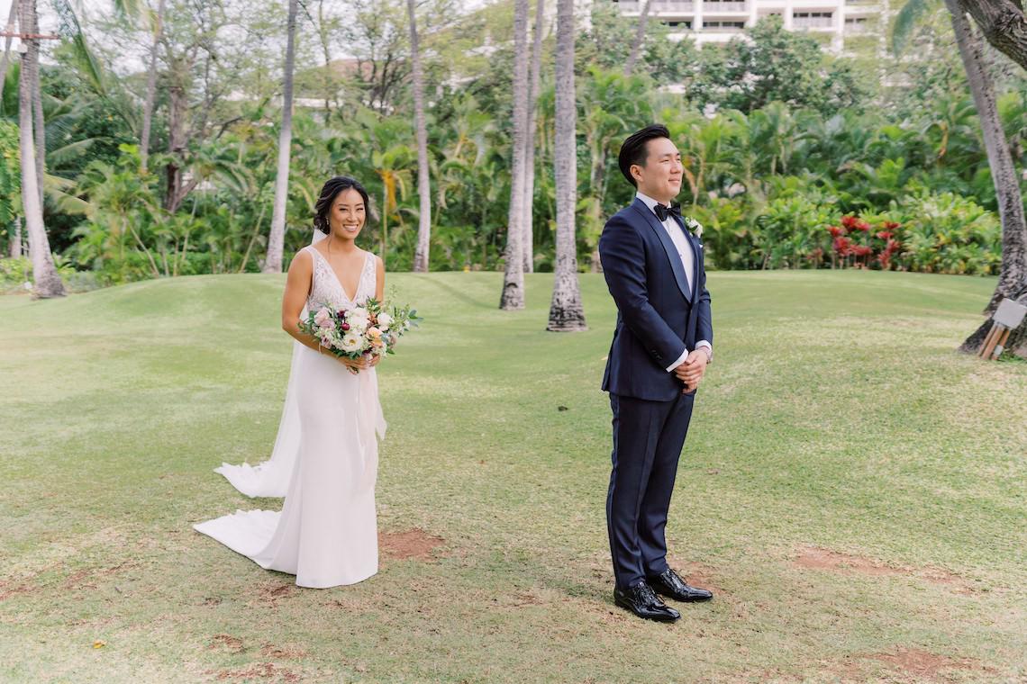Elegant Sage Green Hawaii Destination Wedding – Etcetera Photo 57