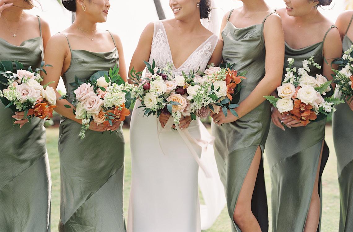 Elegant Sage Green Hawaii Destination Wedding – Etcetera Photo 58