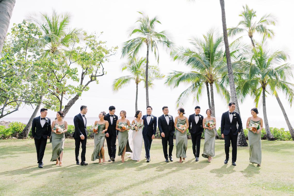 Elegant Sage Green Hawaii Destination Wedding – Etcetera Photo 60