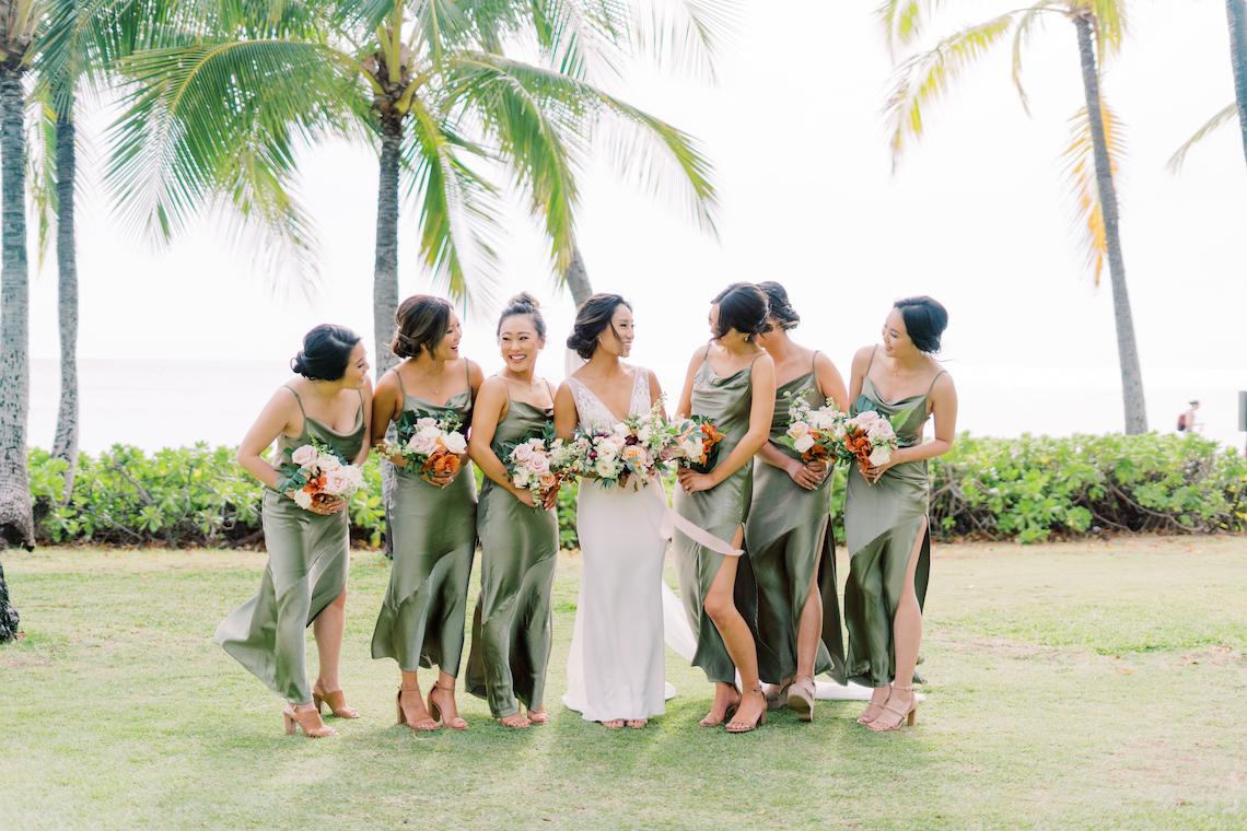 Elegant Sage Green Hawaii Destination Wedding – Etcetera Photo 61