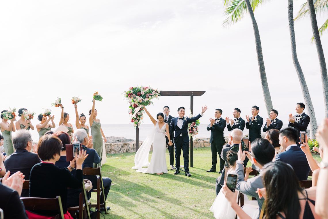 Elegant Sage Green Hawaii Destination Wedding – Etcetera Photo 66