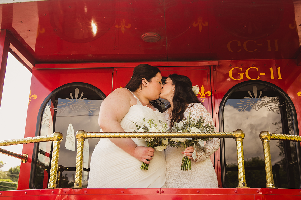 Jubilant New Orleans Same Sex Wedding – Mateo and Company Photography 17