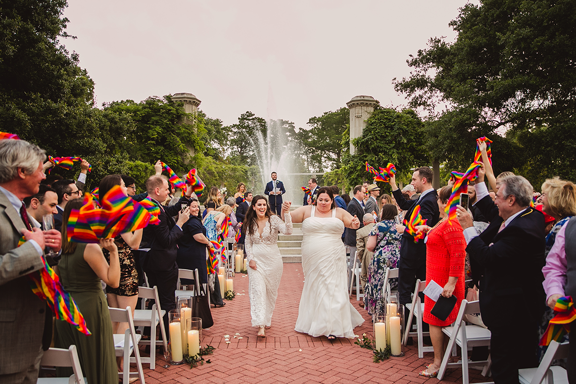 Jubilant New Orleans Same Sex Wedding – Mateo and Company Photography 21