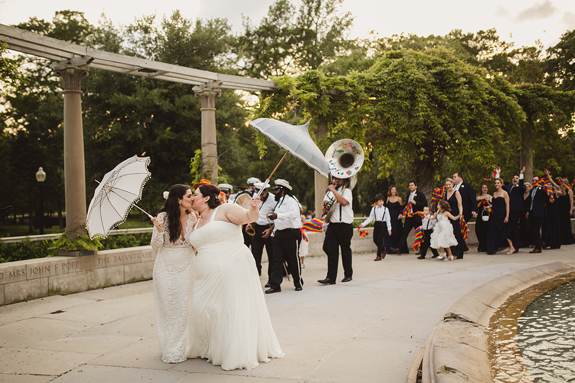 Jubilant New Orleans Same Sex Wedding – Mateo and Company Photography 24