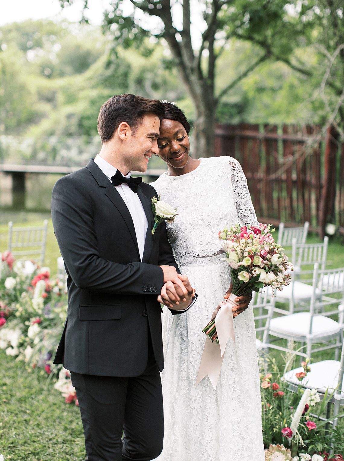 Romantic African Garden Wedding Inspiration – Kind Fisher Boma – Stepan Vrzala – Love From Mwai 15