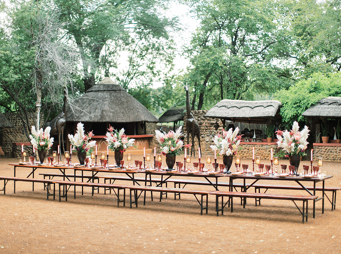 Rustic African Boma Wedding Inspiration – Kind Fisher Boma – Stepan Vrzala – Love From Mwai 3