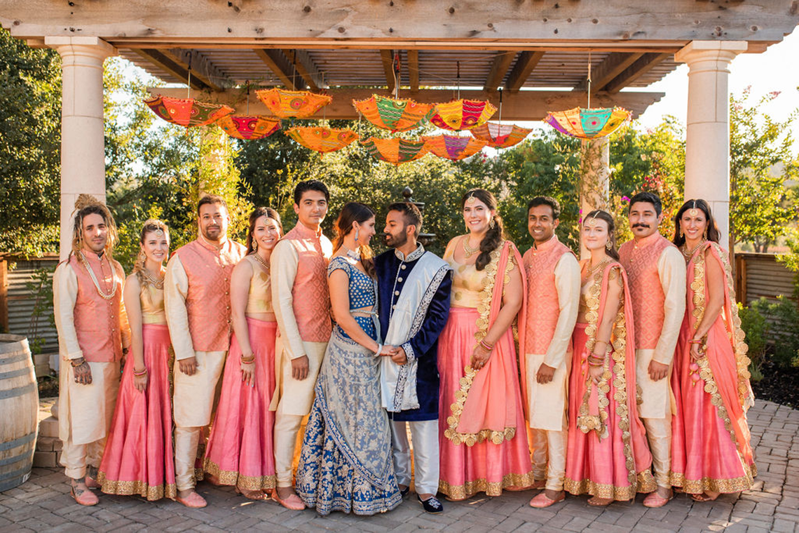 Rustic Multicultural Wedding and Sangeet at Holman Ranch – Lauren Feddersen Photography – Quintana Events 66