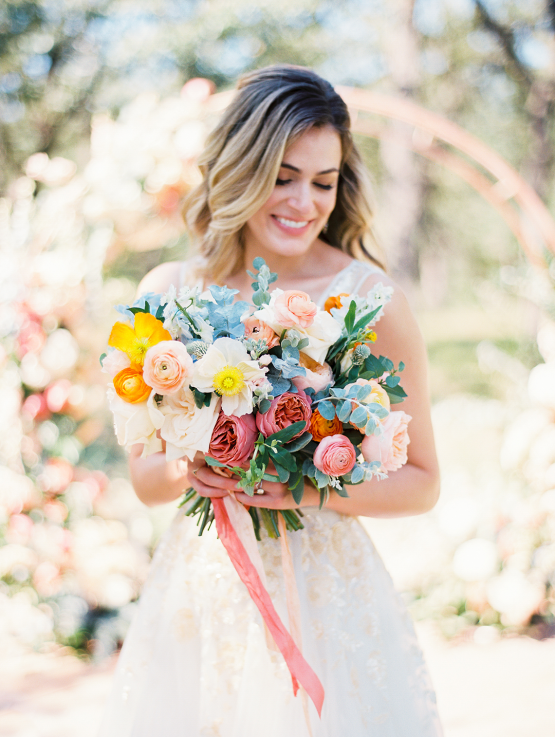 Zesty Citrus Wedding Ideas – The Grand Lady – Texas Wedding – Kristin La Voie Photography 12