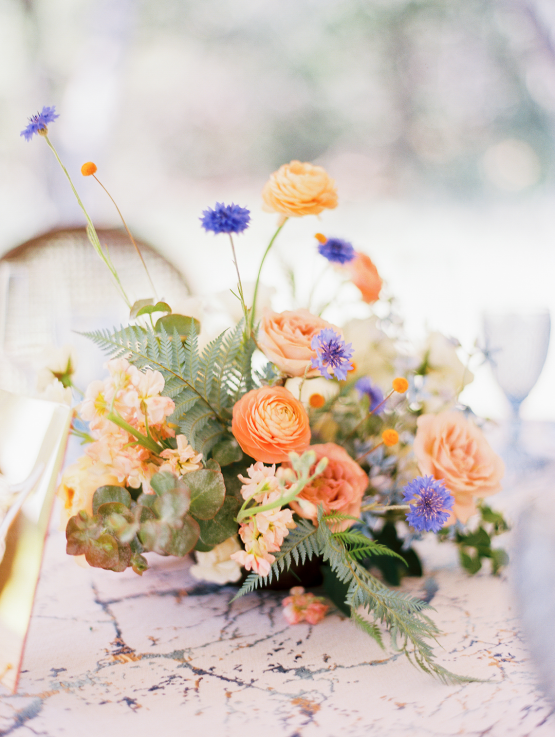 Zesty Citrus Wedding Ideas – The Grand Lady – Texas Wedding – Kristin La Voie Photography 21