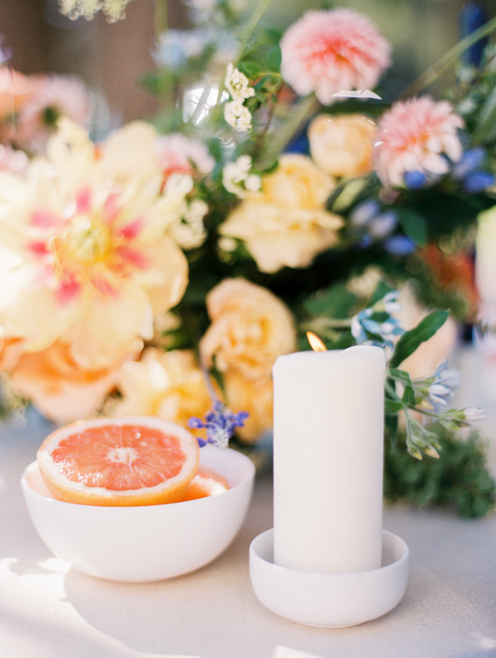 Zesty Citrus Wedding Ideas – The Grand Lady – Texas Wedding – Kristin La Voie Photography 8