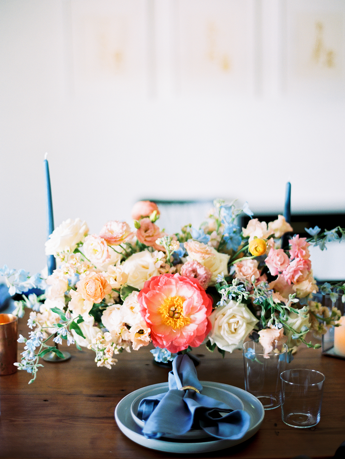 Zesty Citrus Wedding Ideas – The Grand Lady – Texas Wedding – Kristin La Voie Photography 9