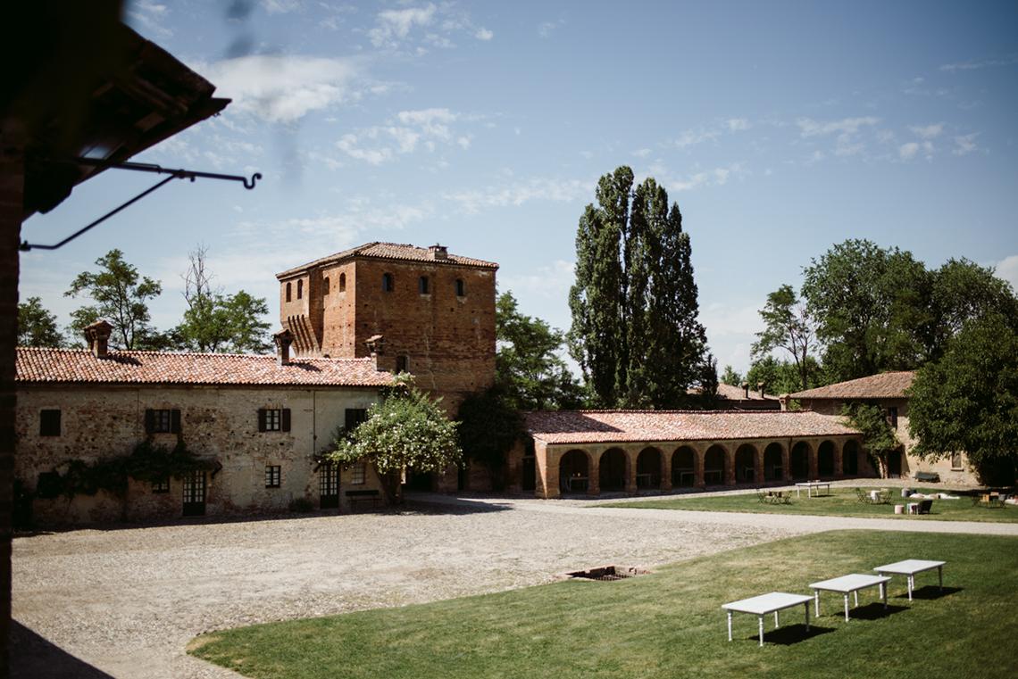 Bohemian Wildflower Wedding in Northern Italy – Margherita Calati – Castello di Paderna 1