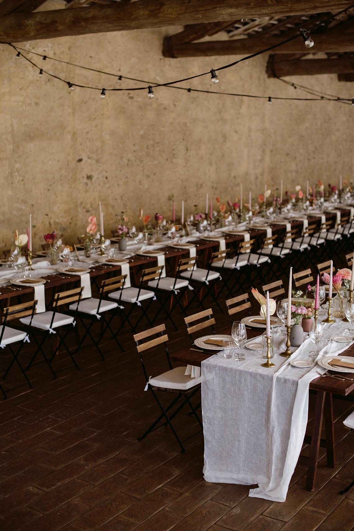 Bohemian Wildflower Wedding in Northern Italy – Margherita Calati – Castello di Paderna 22