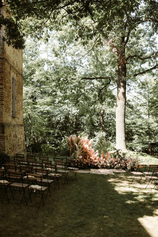 Bohemian Wildflower Wedding in Northern Italy – Margherita Calati – Castello di Paderna 30