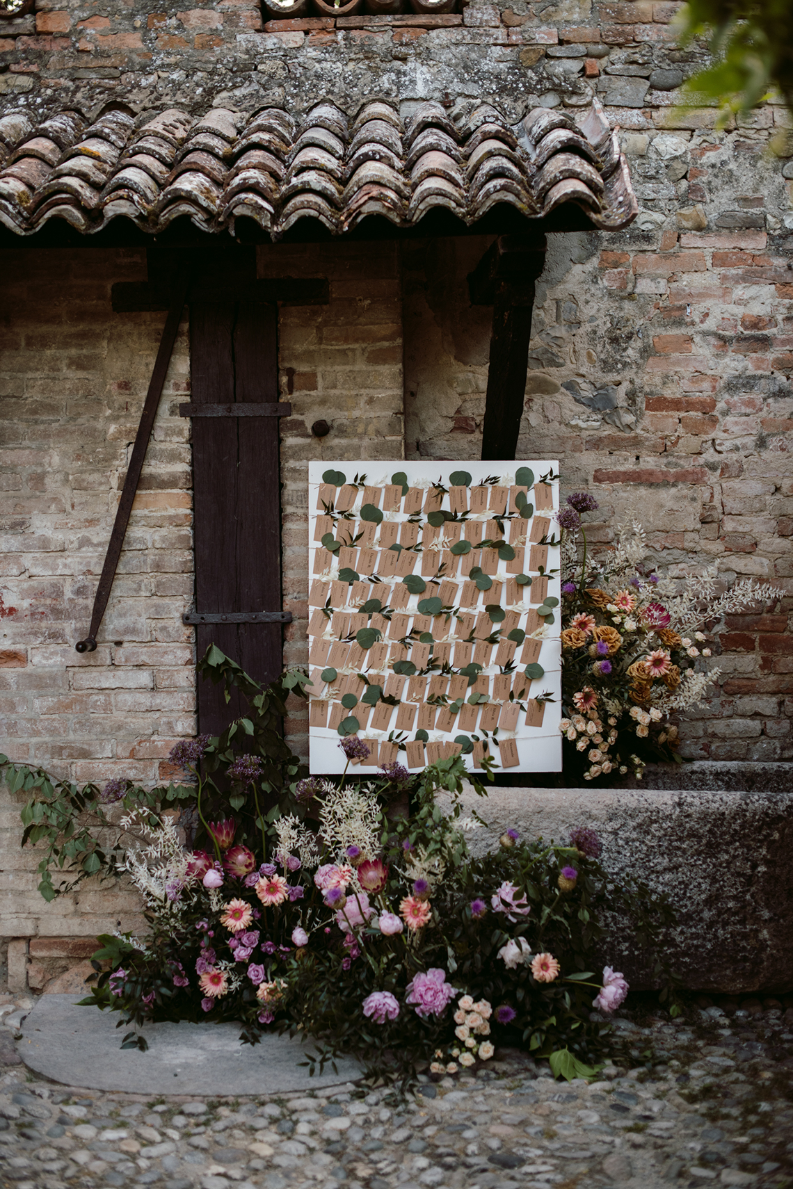 Bohemian Wildflower Wedding in Northern Italy – Margherita Calati – Castello di Paderna 48