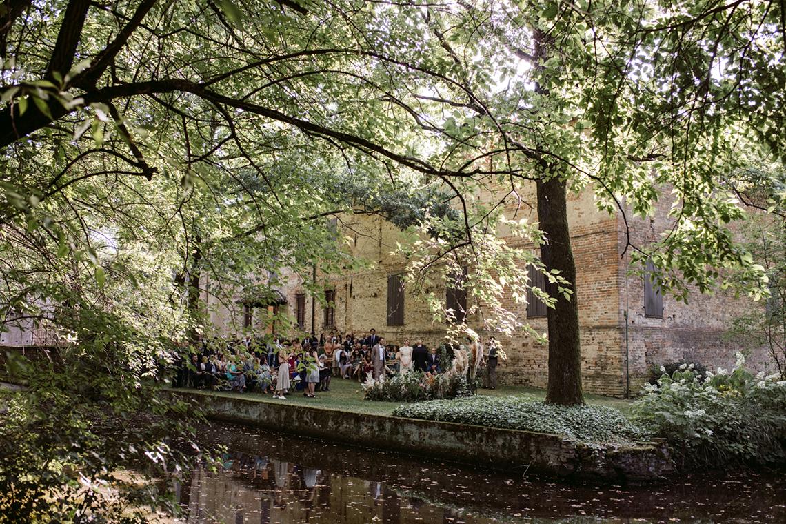 Bohemian Wildflower Wedding in Northern Italy – Margherita Calati – Castello di Paderna 5