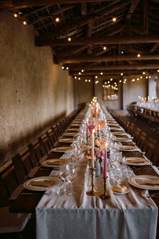 Bohemian Wildflower Wedding in Northern Italy – Margherita Calati – Castello di Paderna 50