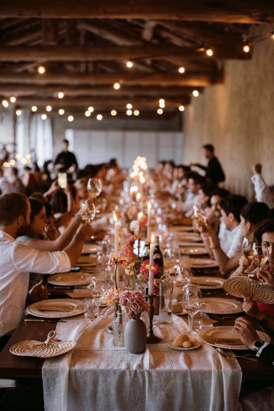 Bohemian Wildflower Wedding in Northern Italy – Margherita Calati – Castello di Paderna 53