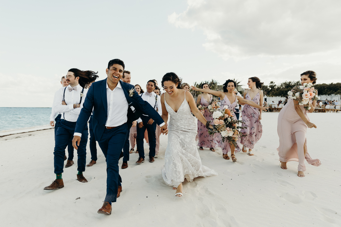 Boho Riviera Maya Mexico Banyan Tree Wedding – Memory Box photography 6
