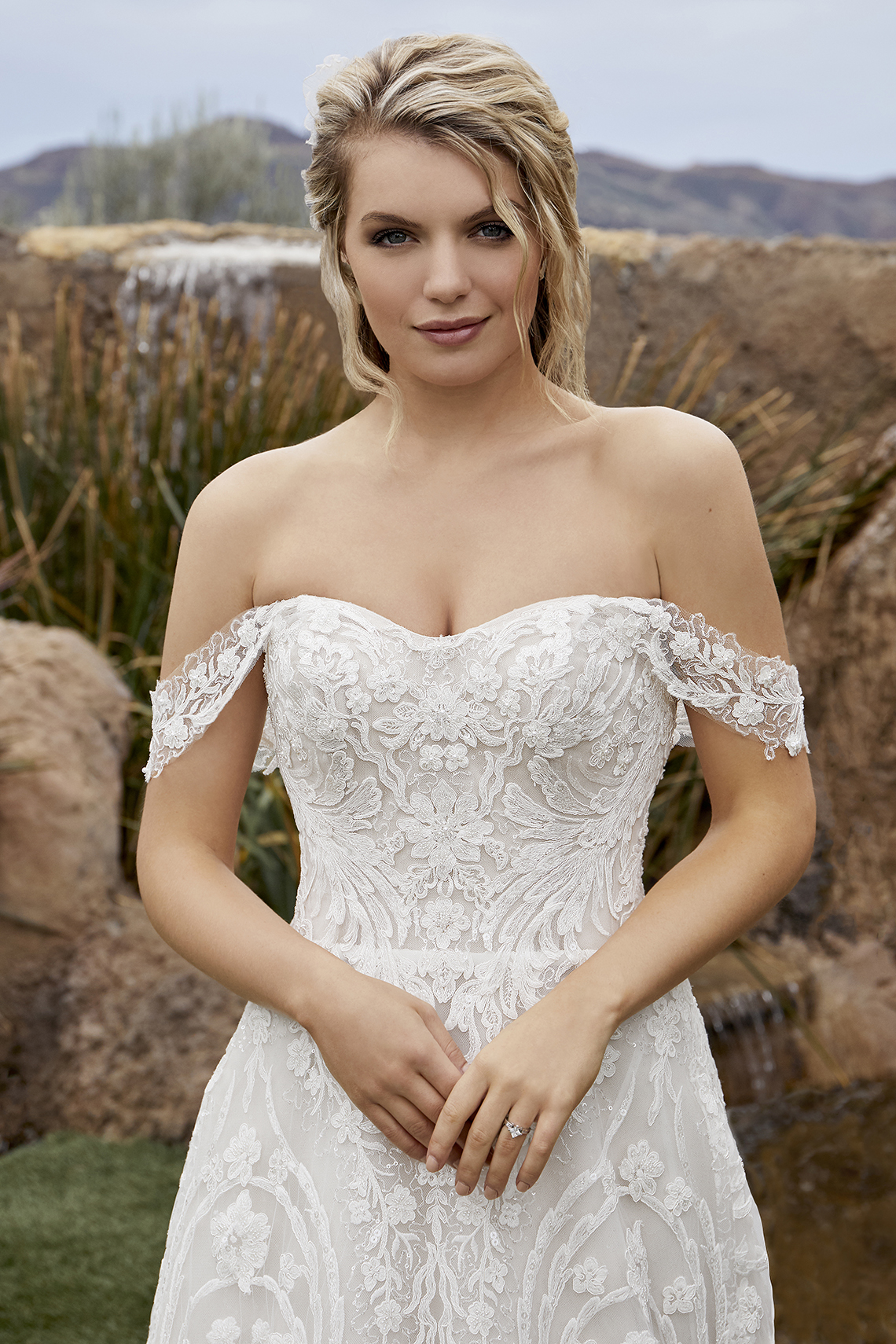 Casablanca Bridal Off-the-shoulder Wedding Dresses – Bridal Musings – 2433 – Taylor 1