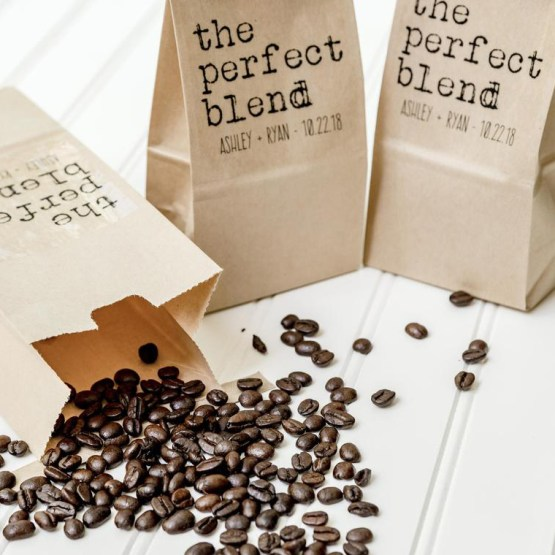 Coffee Bag Favor – Etsy – The Best Places to Buy Wedding Favors and Supplies