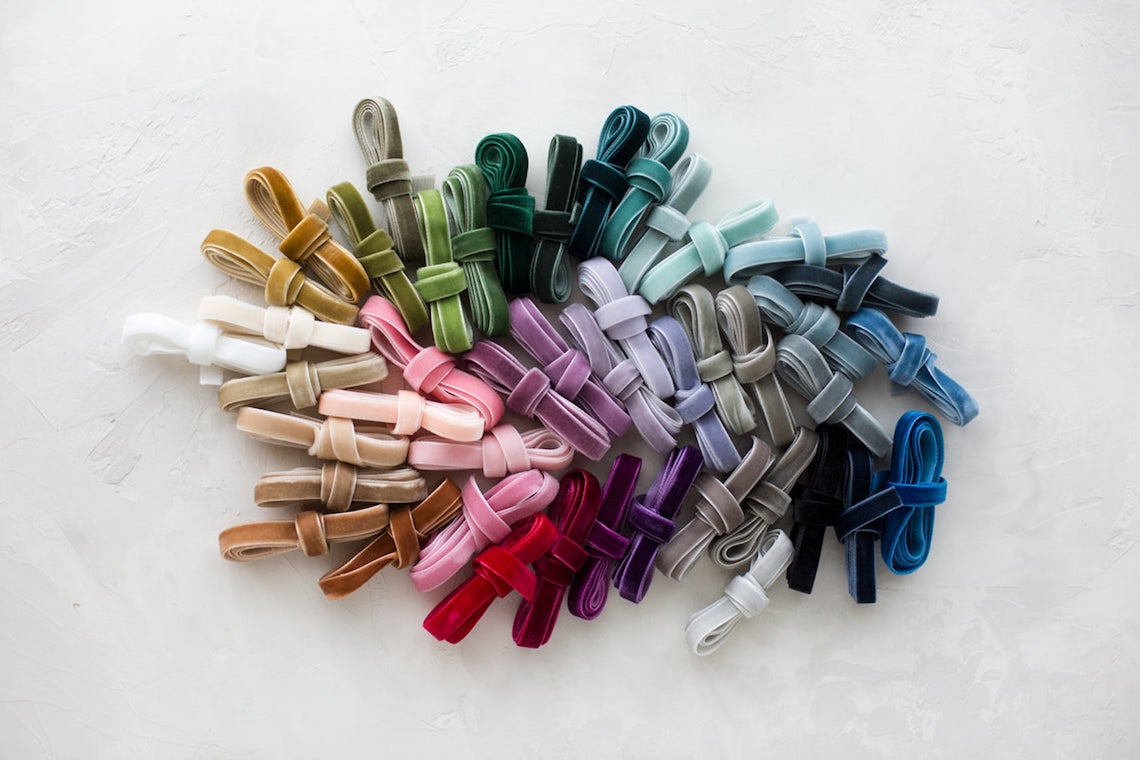 Gorgeous Ribbons for Your Wedding on Etsy – Anastasia Marie Shop