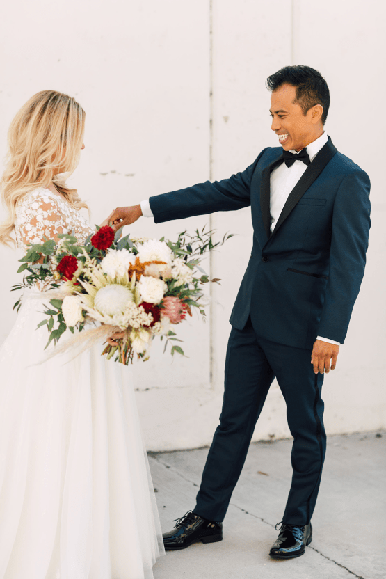 Industrial Chic Chinese and Western San Diego Wedding – Plum and Oak Photo – Sandbox 11