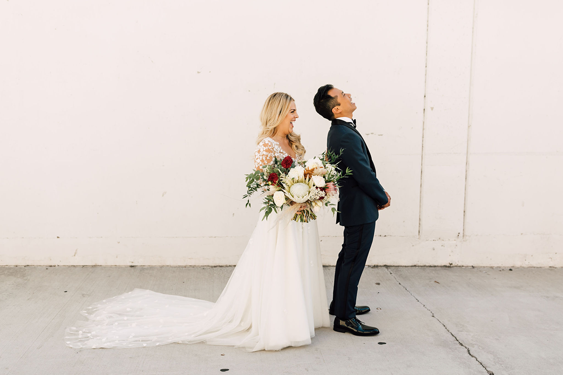 Industrial Chic Chinese and Western San Diego Wedding – Plum and Oak Photo – Sandbox 54