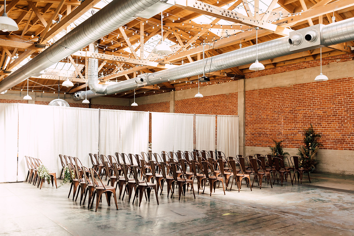 Industrial Chic Chinese and Western San Diego Wedding – Plum and Oak Photo – Sandbox 57