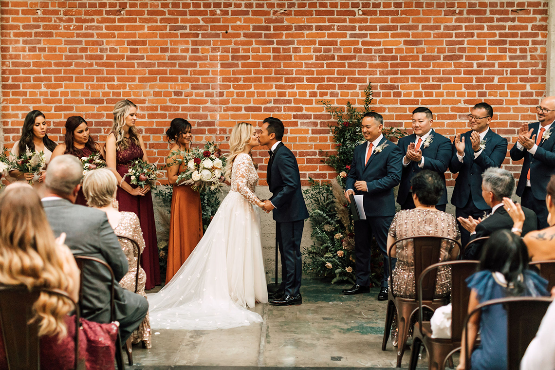 Industrial Chic Chinese and Western San Diego Wedding – Plum and Oak Photo – Sandbox 58