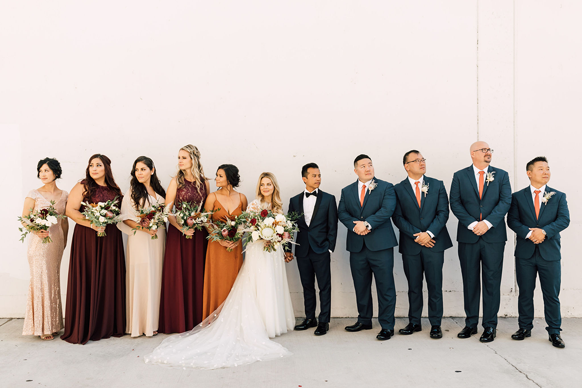 Industrial Chic Chinese and Western San Diego Wedding – Plum and Oak Photo – Sandbox 59
