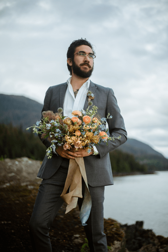 Intimate Alaska Summer Solstice Elopement – Sydney Akagi Photography – Frenchies Floral Studio 15