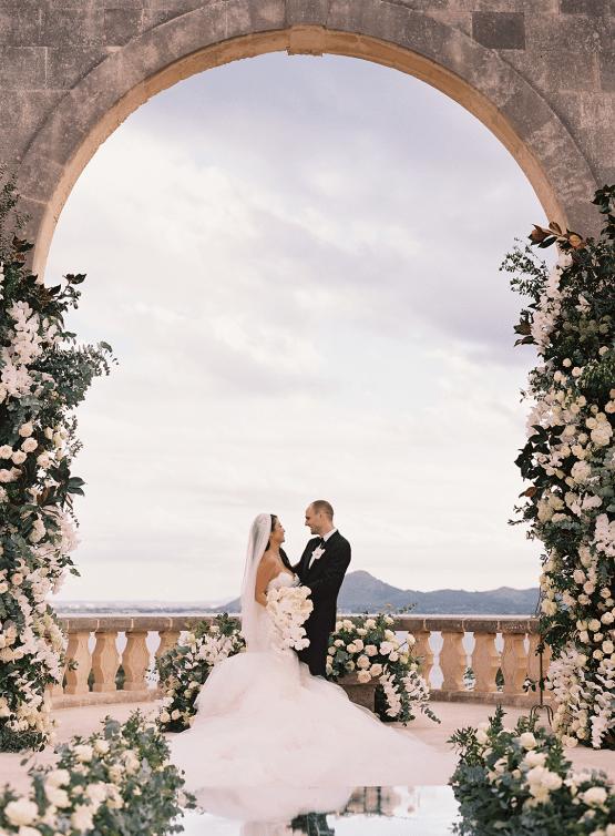 Lavish and Luxurious Mallorca Destination Wedding – Eric Kelley Photography – Galia Lahav 21
