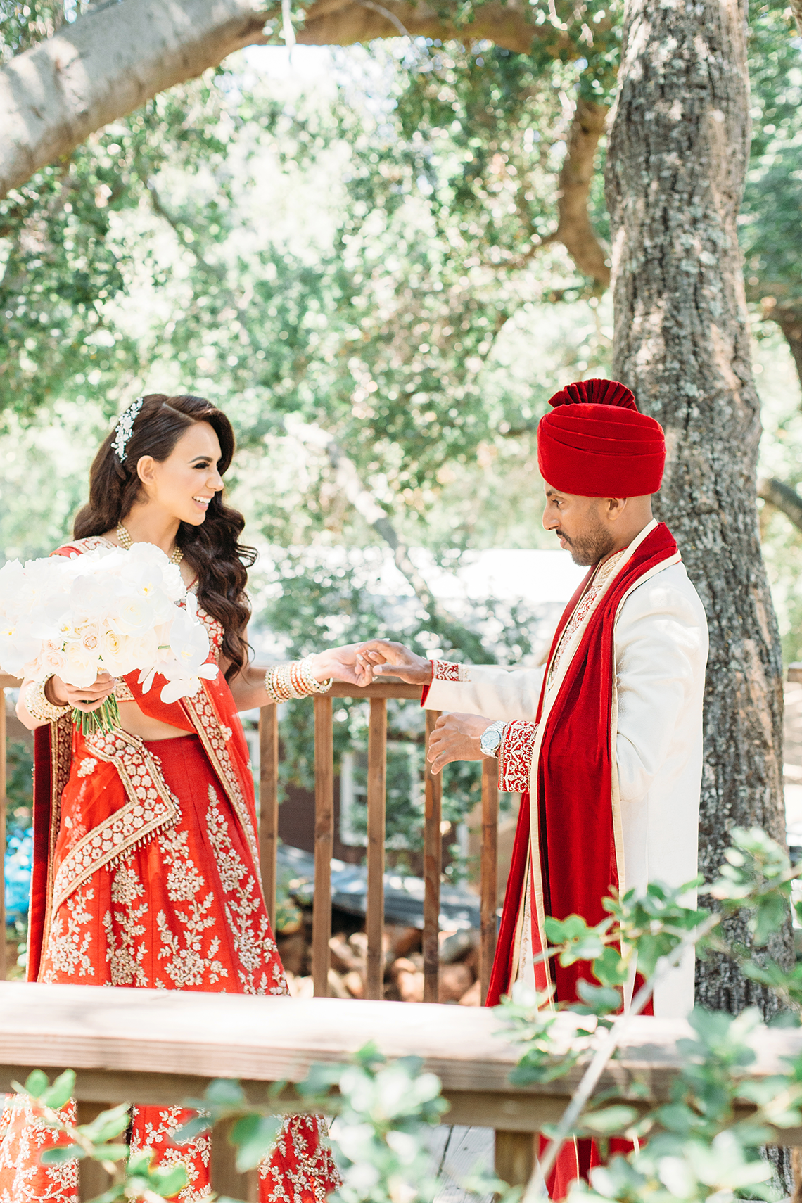 Multicultural Persian and Indian Wedding at Calamigos Ranch – Purity Weddings 22