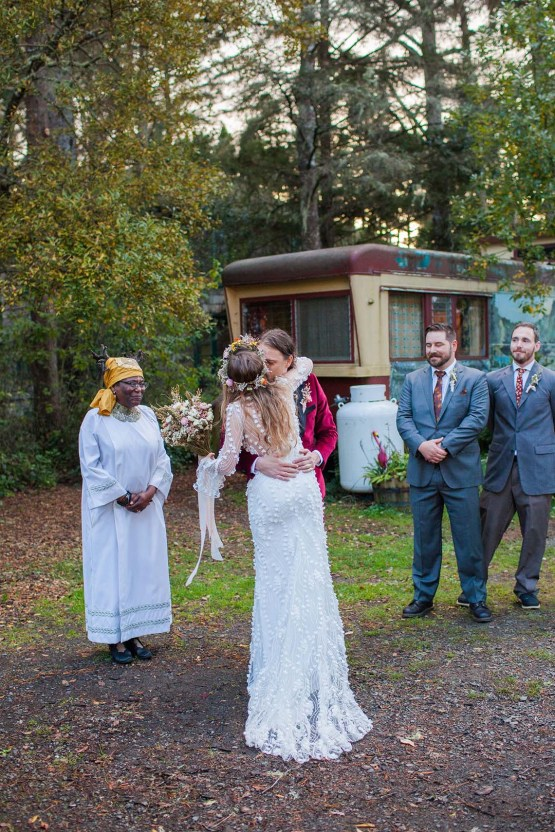 Pacific Northwest Rock and Roll Beach Wedding at The Funky Souwester Lodge – Claire Eliza Wedding Photography – Christina Castello and Drew Pull – Alexandra Grecco Dylan Gown 47