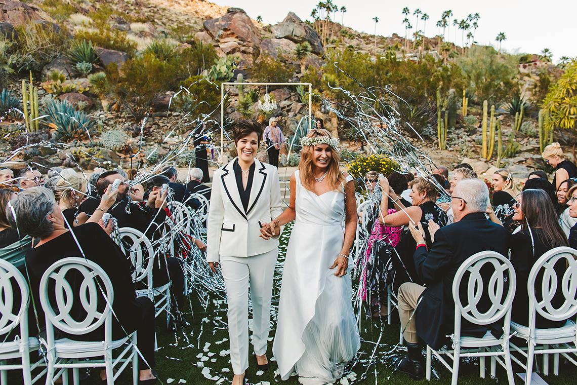 Stylish Same-Sex Palm Springs Wedding – Colony 29 – Ryan Horban Photography 11