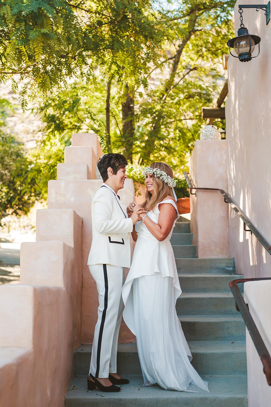 Stylish Same-Sex Palm Springs Wedding – Colony 29 – Ryan Horban Photography 21