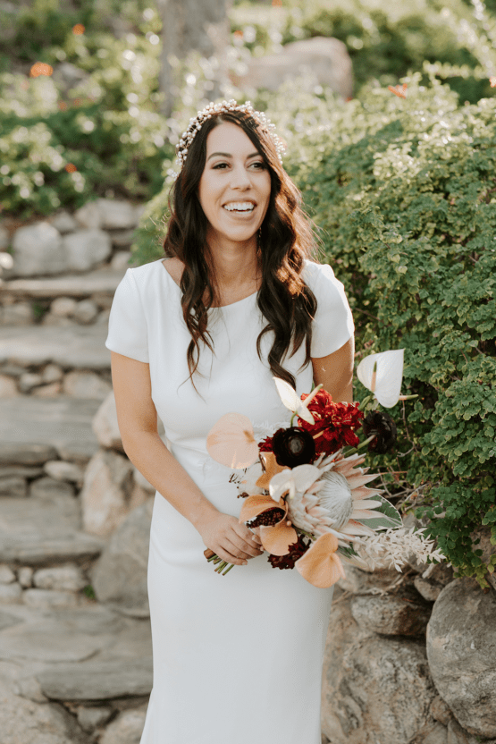 Ultra-Stylish Palm Springs Wedding with Modern Black Details – Frederick Loewe Estate – Mary Claire Roman 36