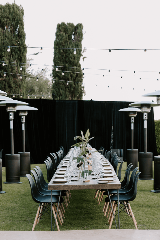Ultra-Stylish Palm Springs Wedding with Modern Black Details – Frederick Loewe Estate – Mary Claire Roman 45