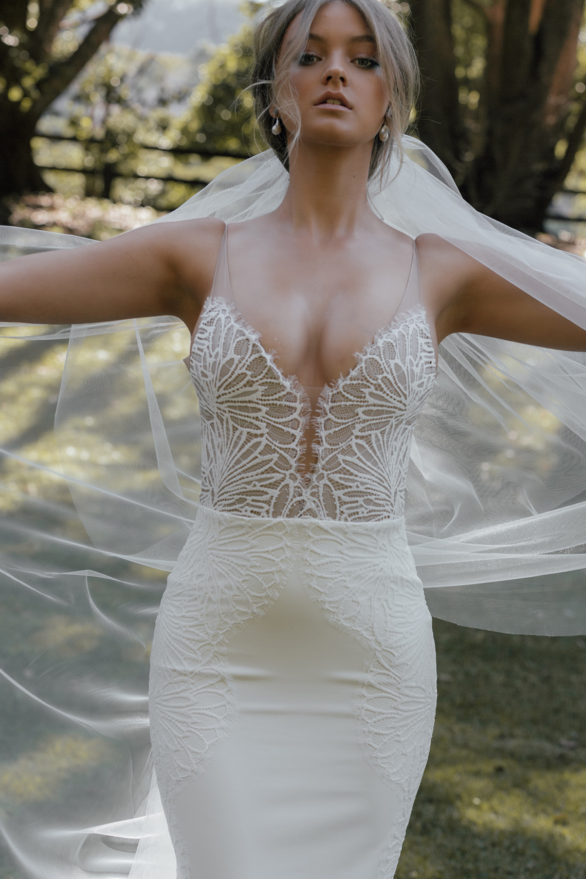 Best Wedding Dress Trends for 2021 Brides – Bridal Musings – Grace Loves Lace Elysian Collection – Lena Dress 3