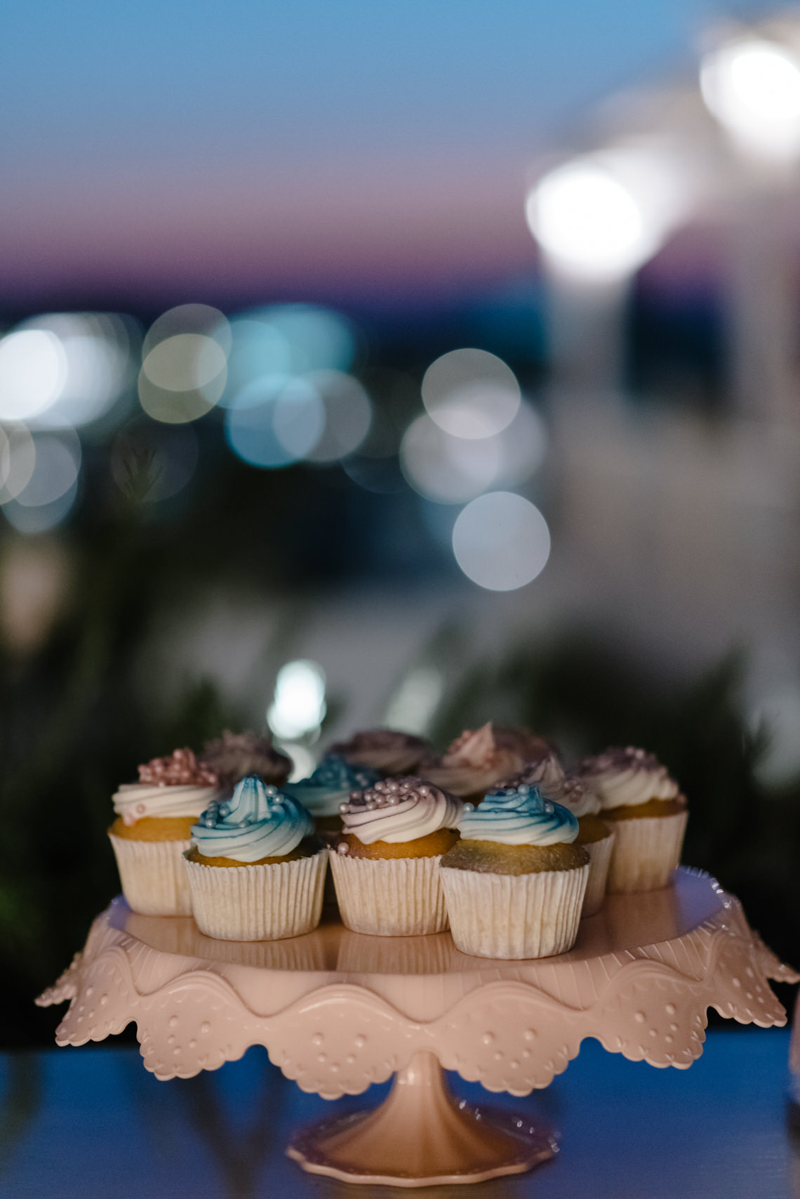 Blue and White Santorini Cliffside Same Sex Wedding – Nathan Wyatt Photography 52