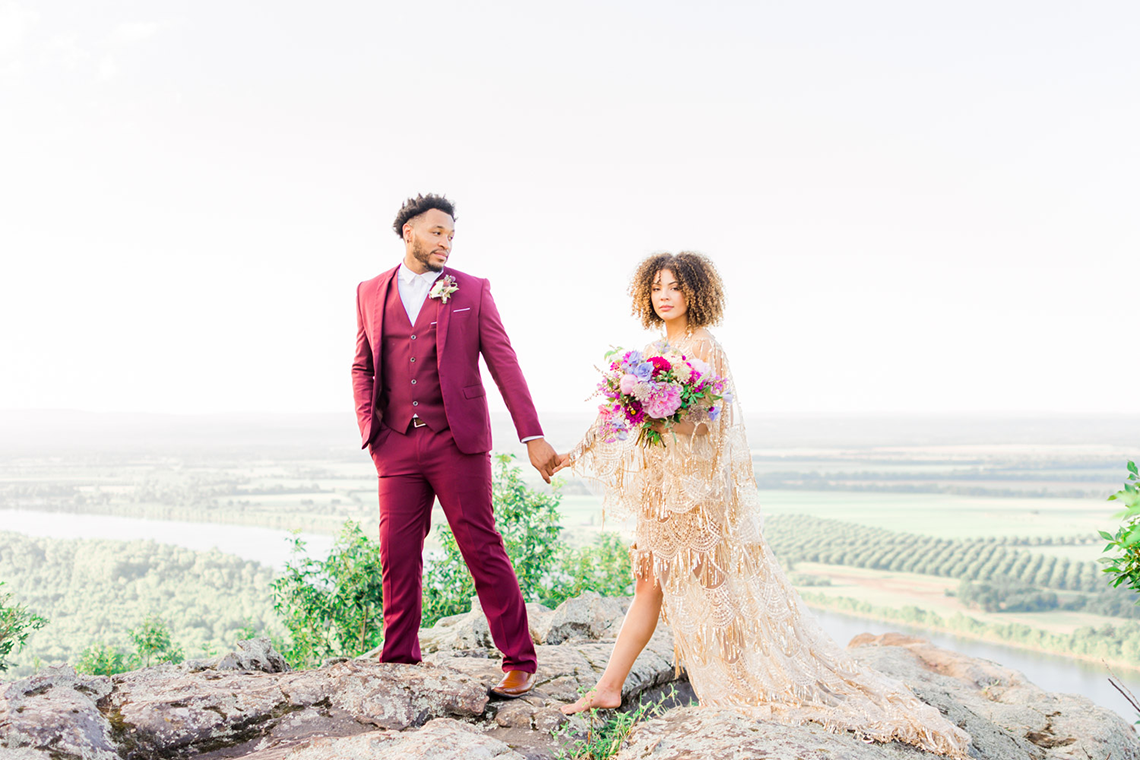 Bright and Colorful Arkansas Wedding Inspiration – Sopheak Smith Photography 2