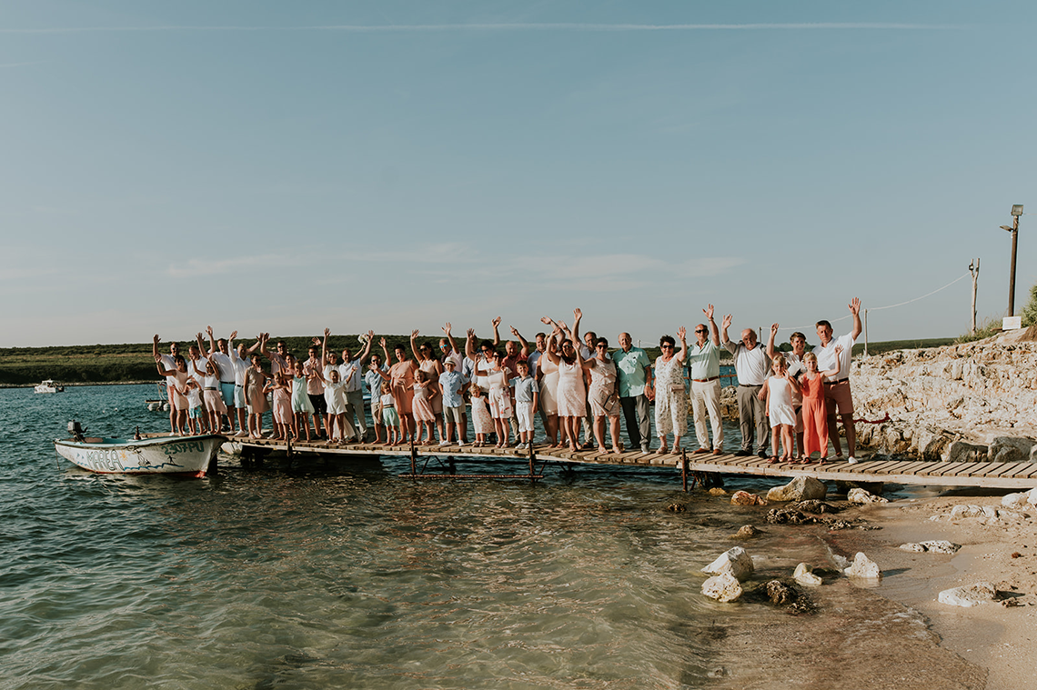 Casual Beach Wedding in Pula Croatia – Lukart Photography – Weddings in Croatia 10