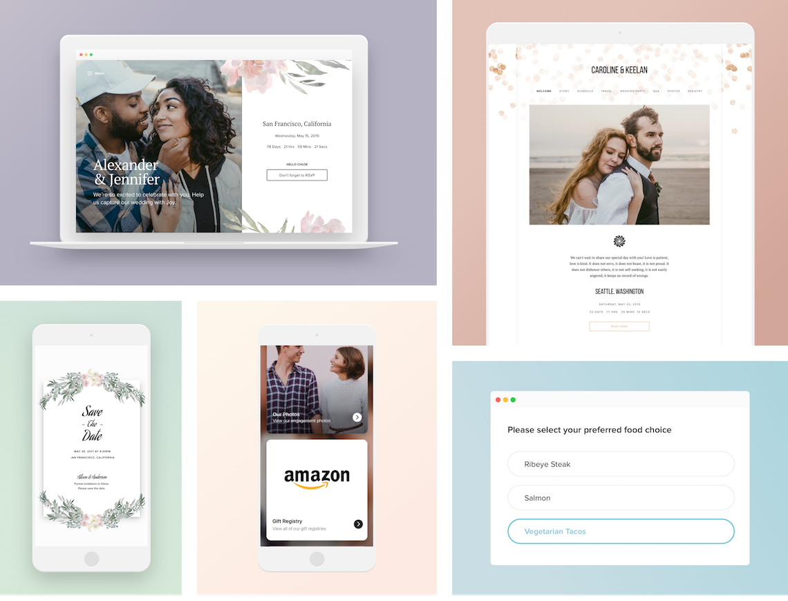 Creating a Wedding Website in 2020 – Joy – Bridal Musings – Compilation of Features